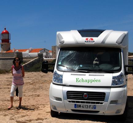 Au cap St Vincent à la pointe sud du Portugal